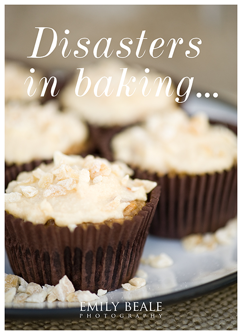 Disasters in baking » Emily Beale Photography