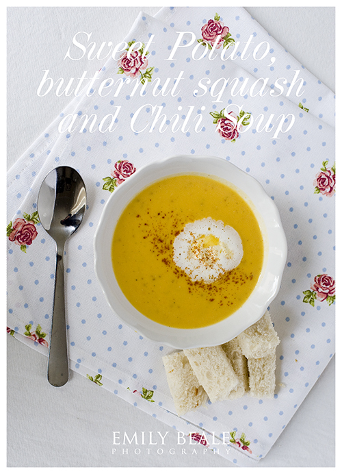 Sweet Potato, Butternut Squash & Chili Soup » Emily Beale Photography