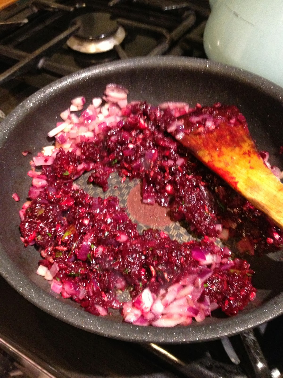 Beef & Beetroot curry - and the balance of power between garden & kitchen