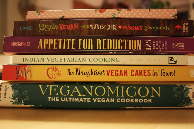 My Top Five Vegan Recipe Books