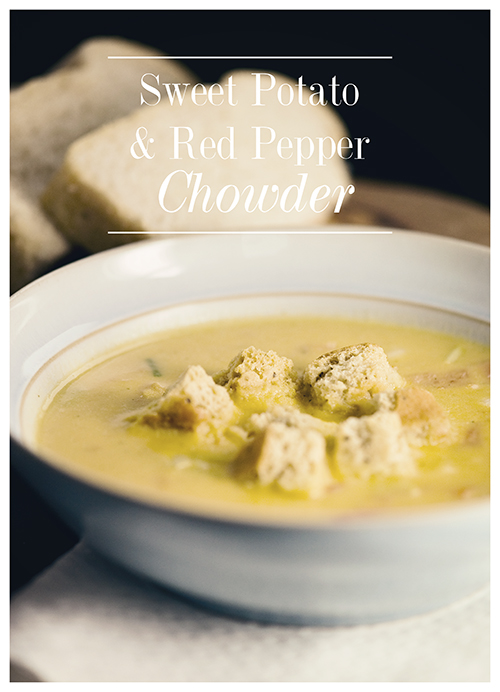Sweet Potato & Red Pepper Chowder » Emily Beale Photography