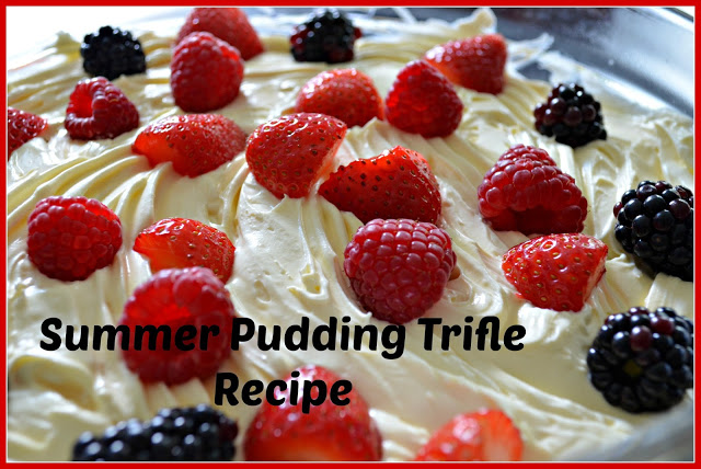 Summer Pudding Trifle