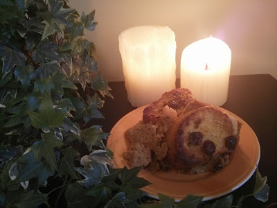 Friday's Kitchen Frugal Fall: Pumpkin Bread and Butter Pudding