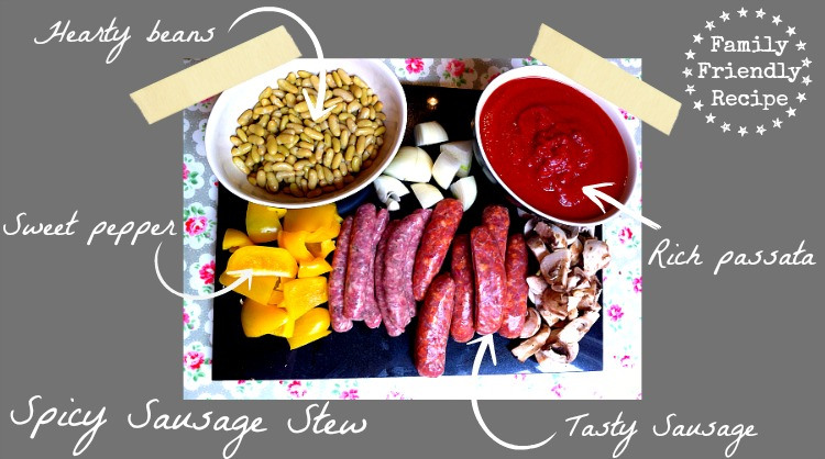 Recipe for spicy sausage stew