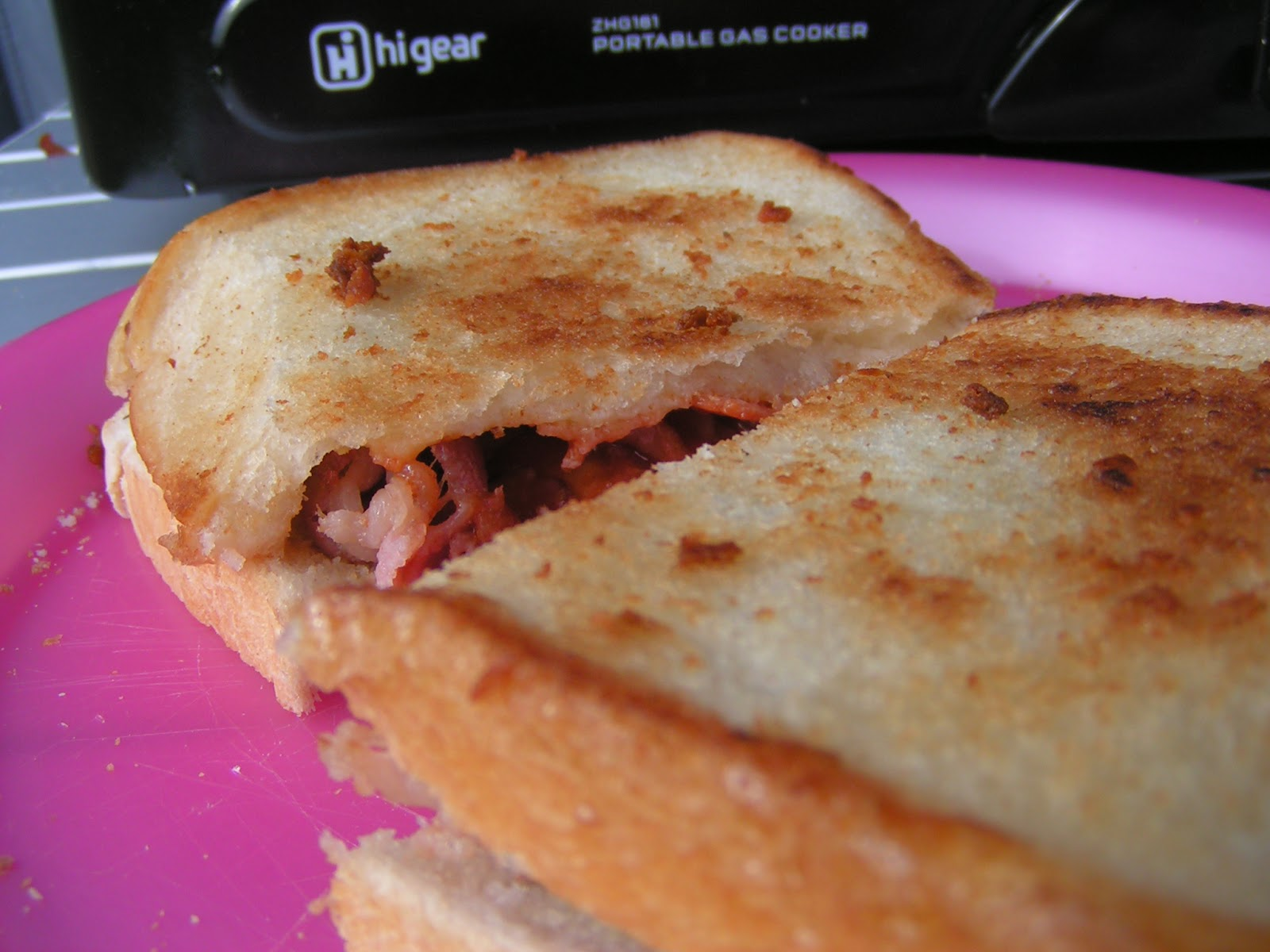 Fried Bacon Sandwich - or how to recover your camping mojo