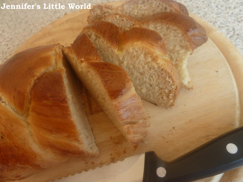 Homemade Zopf Bread for the GBBO Week 2