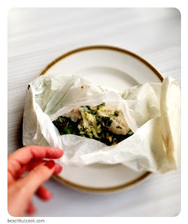 Barbecued Fish Parcels