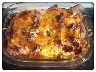 Gluten Free Savoury Bread and Butter Pudding