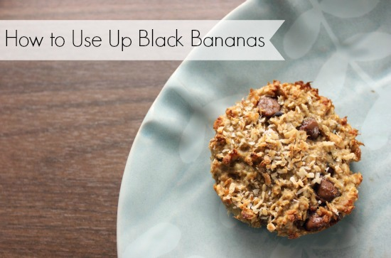 How to Use Up Black Bananas