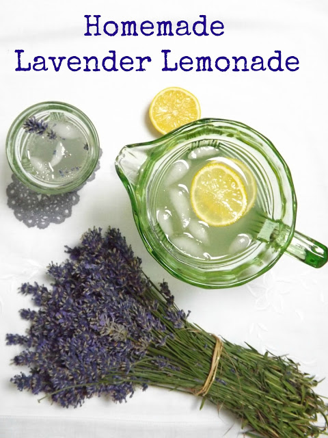 Homemade Lavender Lemonade - Hitchin Lavender Farm Trip