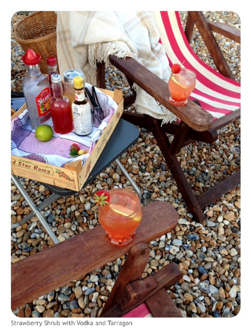 Cocktails on the Beach - On a School Night!