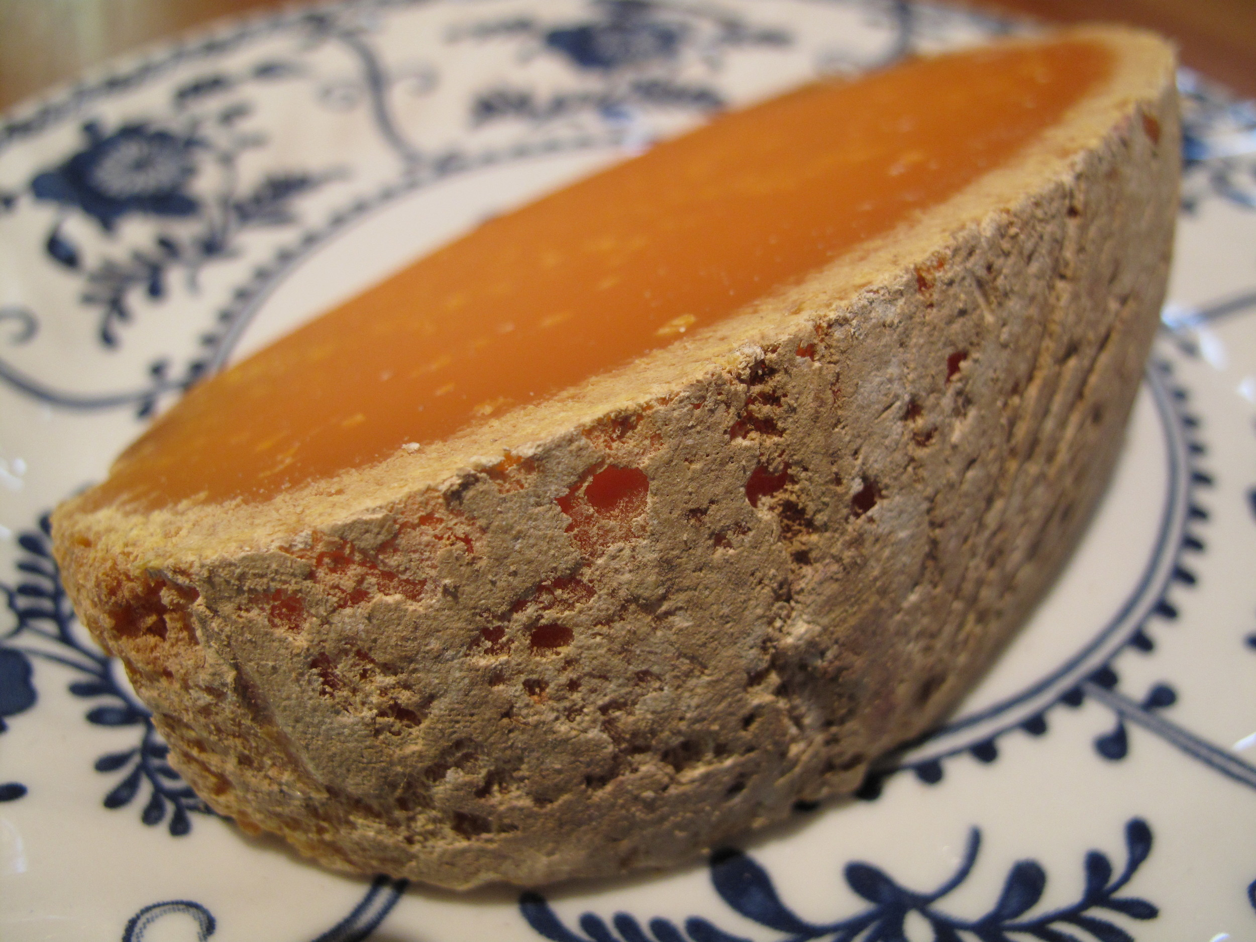 Fromage Friday: Mimolette (the cheese with 'fleas')