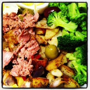 My Tuna Nicoise Salad - Only Best For Baby