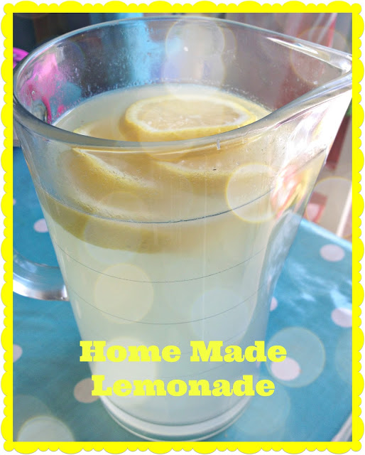 Very Easy Home Made Lemonade Recipe