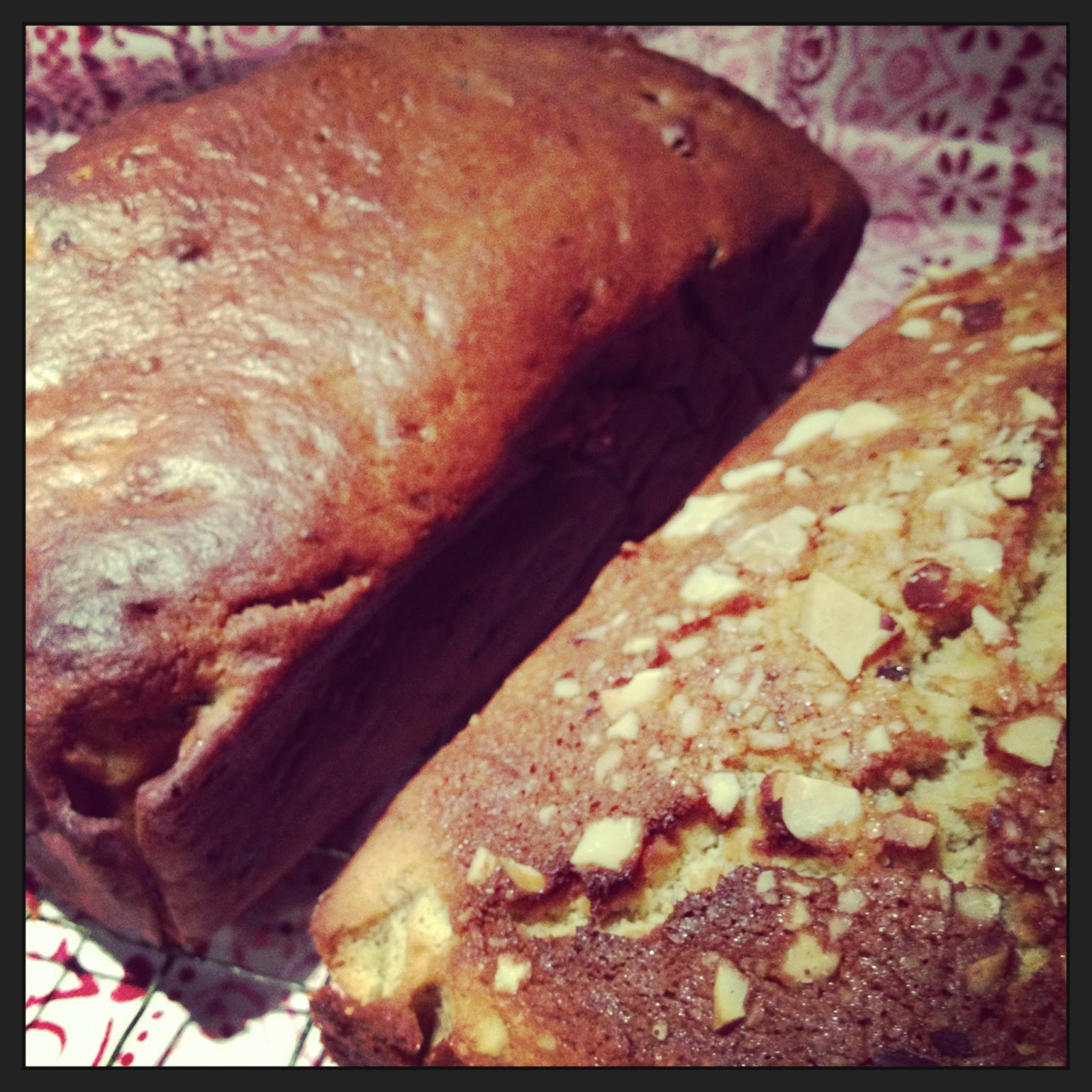 Healthy & Happy Banana Cinammon Loaf (with secret courgette) - a Random Recipe