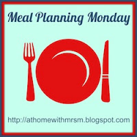 Meal Planning Monday - Recovery...