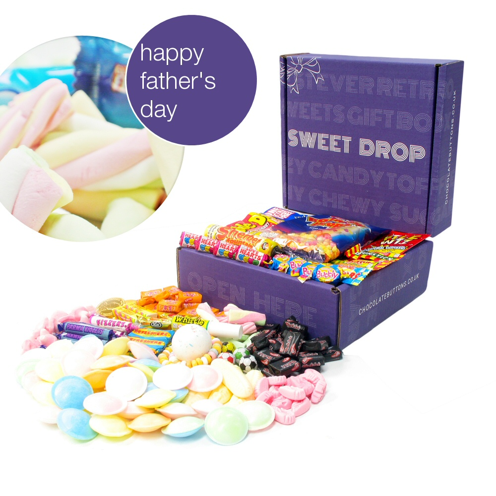 Retro sweets hamper giveaway for Father's Day