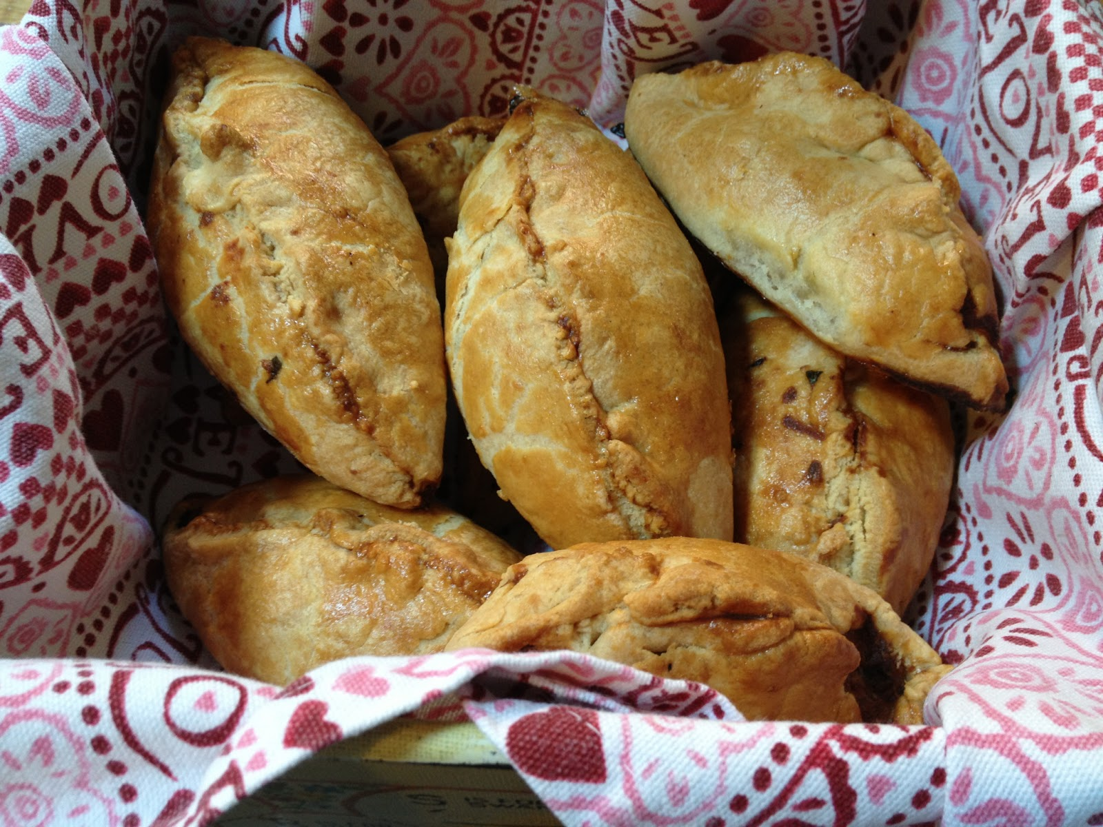 Camping food - Cheese & Marmite Pasties