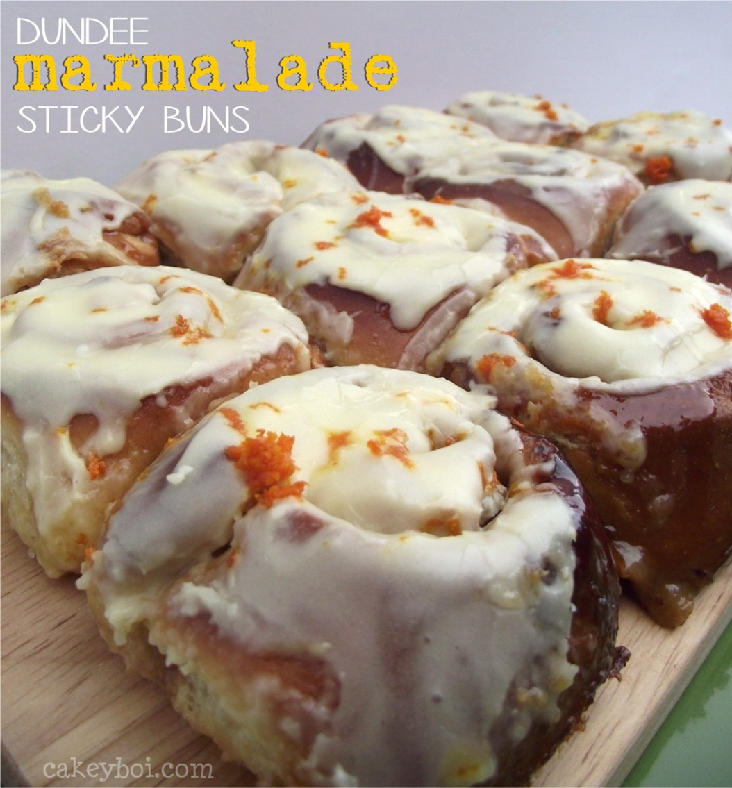 Dundee Marmalade Sticky Buns