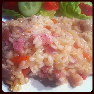 Bacon and Red Pepper Risotto Recipe