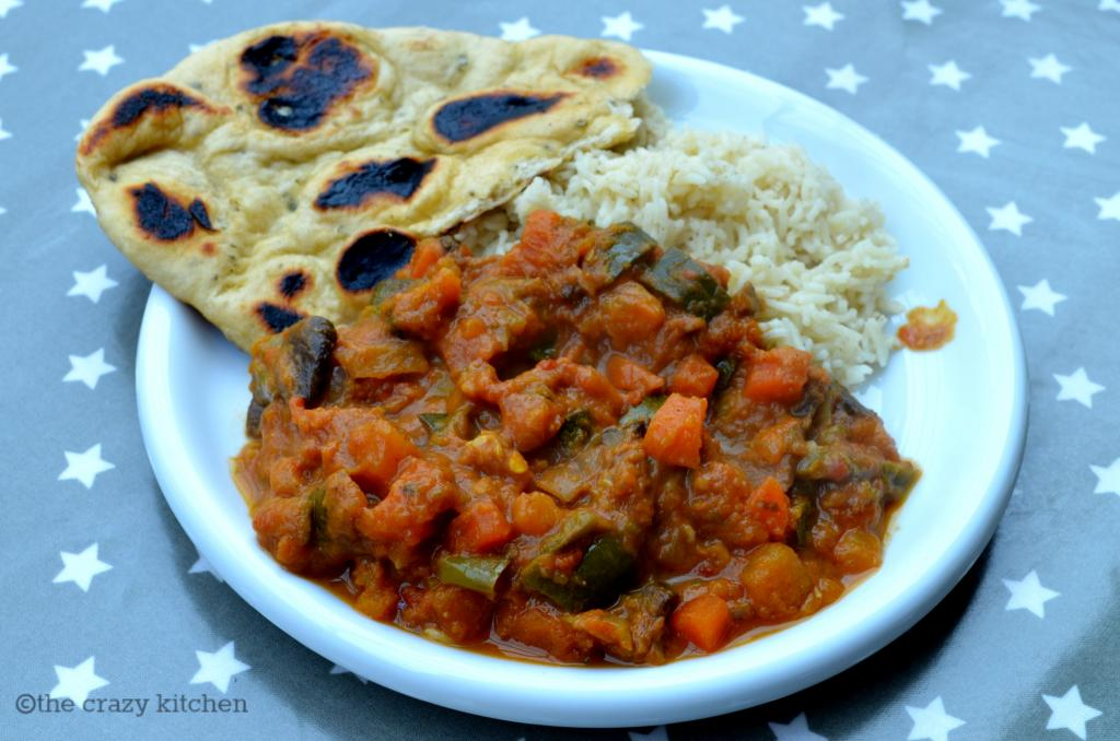 5:2 Diet & Family Friendly Vegetable Curry