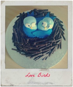 Love Birds Cake: It Is Easy – Promise!