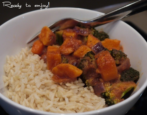 Mild Veg Curry - Only Best For Baby