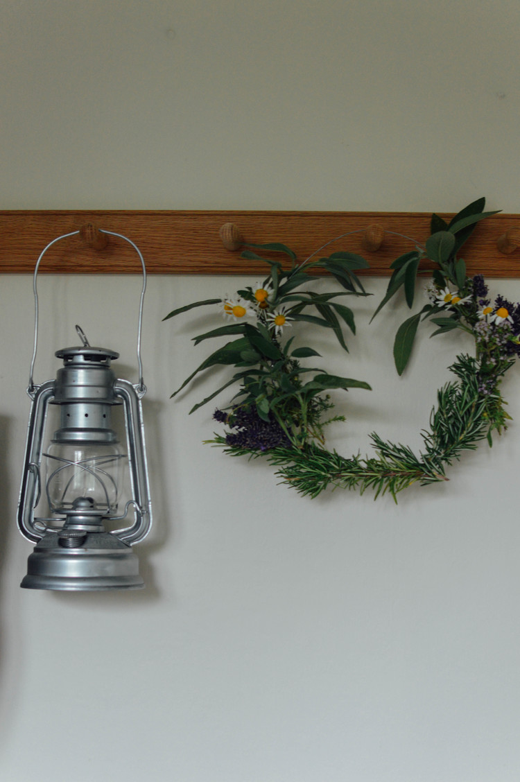 A herb wreath