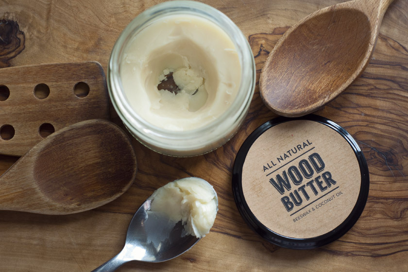Homemade Wood Butter