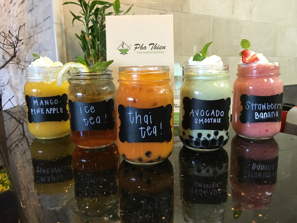 new smoothies pho thien vietnamese kitchen - Pho Kitchen