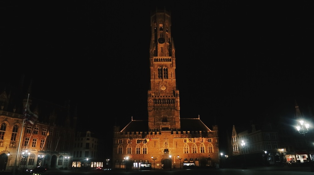 bruges markt belfry tower
