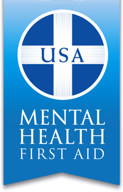 Click here   to learn more about Mental Health First Aid.
