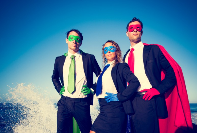 Turn your sales team into a team of Superheroes together with Grace!