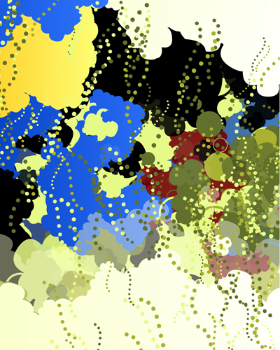 Neil Matthiessen  Conglomeration , 2011 inkjet on BFK 25 x 20 inches