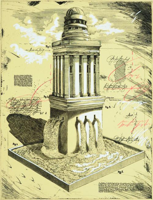 Cameron Bradbury Memorial Purchase Award. Permanent Collection, Arkansas State University. Underwritten by Claude M. Erwin, Jr., Dallas, Texas
