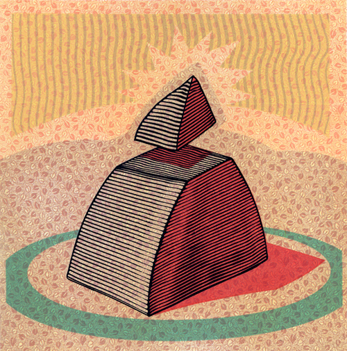 Tom Baker  Spur , 2007 relief, silkscreen 6 ¾ x 6 ¾ inches