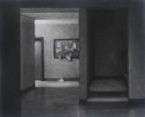 Donald Furst  1:30 a.m. , 2007 mezzotint 7 x 8 ½ inches