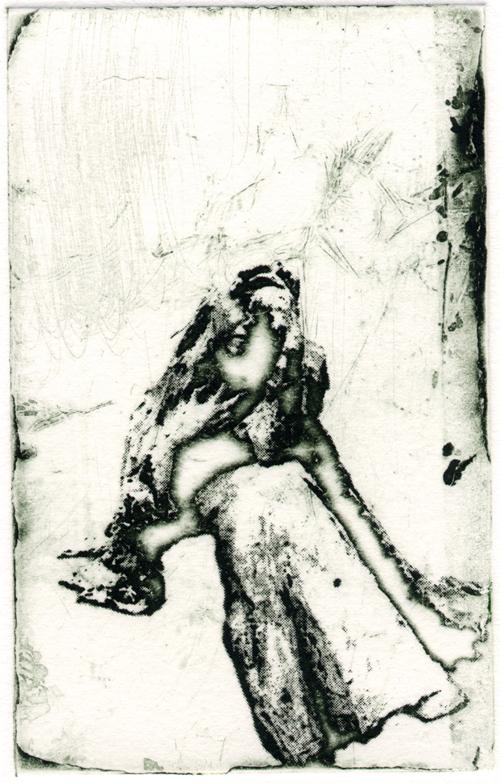 Shelley Gipson  Macha , 2006 intaglio 5 x 3 inches