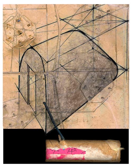 James Edwards  Al Qaqaa-DG , 2005 digital print 25.5 x 20 inches