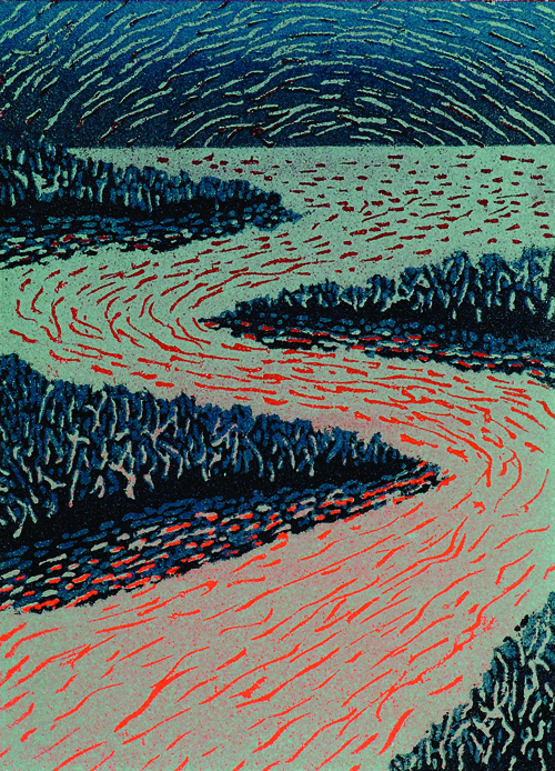 Mark Anderson  Hope , 2005 Foam relief print