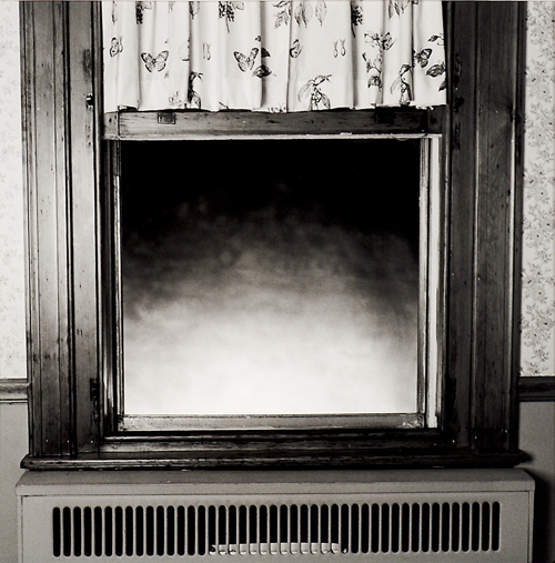 Keith Sharp  Window  Toned silver gelatin print