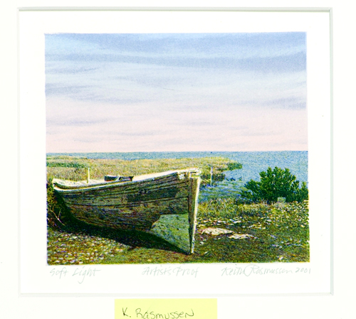 Keith Rasmussen  Soft Light  Lithograph