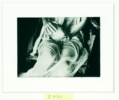 Debe Riley  Untitled  Solar plate intaglio