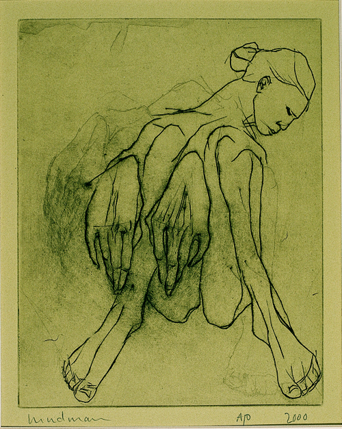 Kim Hindman  Untitled  Etching/engraving