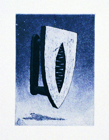 Harvey Ball Arche  Have I Got a Man Ray for You!  intaglio