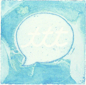 Justin Quinn  Speech Balloon III  intaglio