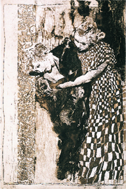 Ann Chernow  It could Only Happen in Brooklyn  aquatint/etching
