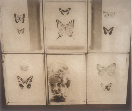 Karen A. Eddy  Looking Inward  photogravure, drypoint