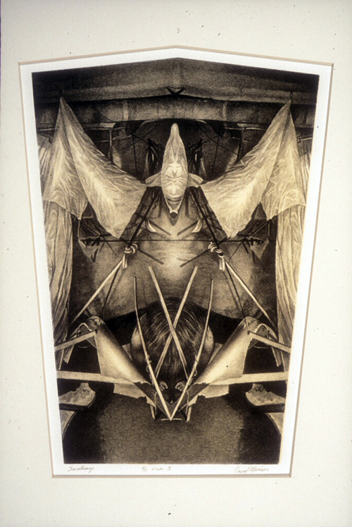 David Morrison  Santuary  lithograph