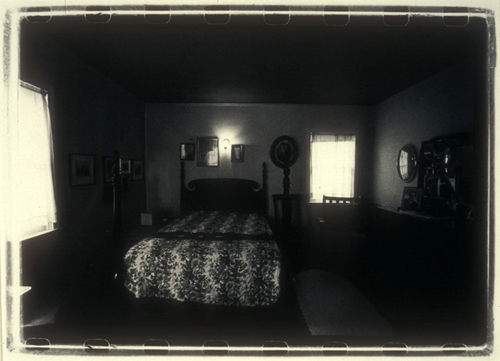 Curtis Steele  Barbara's Room After Her Death  gelatin silver print